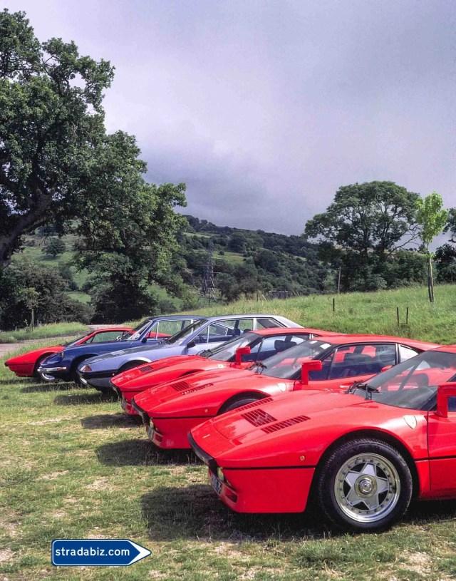 Ferrari's first hyper-car, the 288 GTO