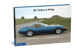 Ferrari Daytona 50 Years A King cover