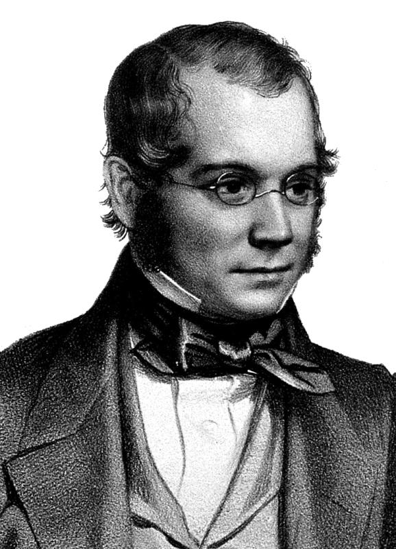 David Thomas Ansted. Litografie de T. H. Maguire, 1850