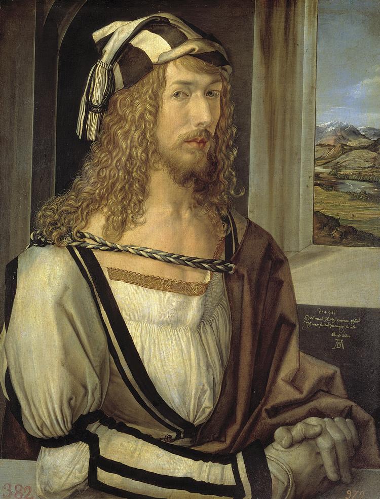 Autoportretul lui Dürer la vârsta de 26 ani, expus la Prado