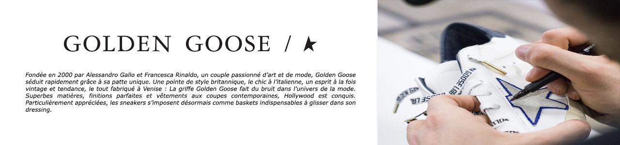 golden goose banniere