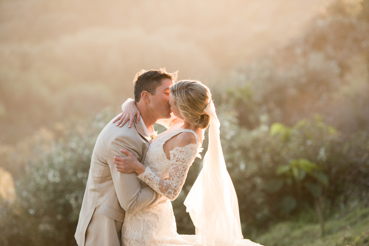Point Lookout community hall wedding reception   Emma and Anthony wedding video   bride and groom on Straddie Gorge Walk
