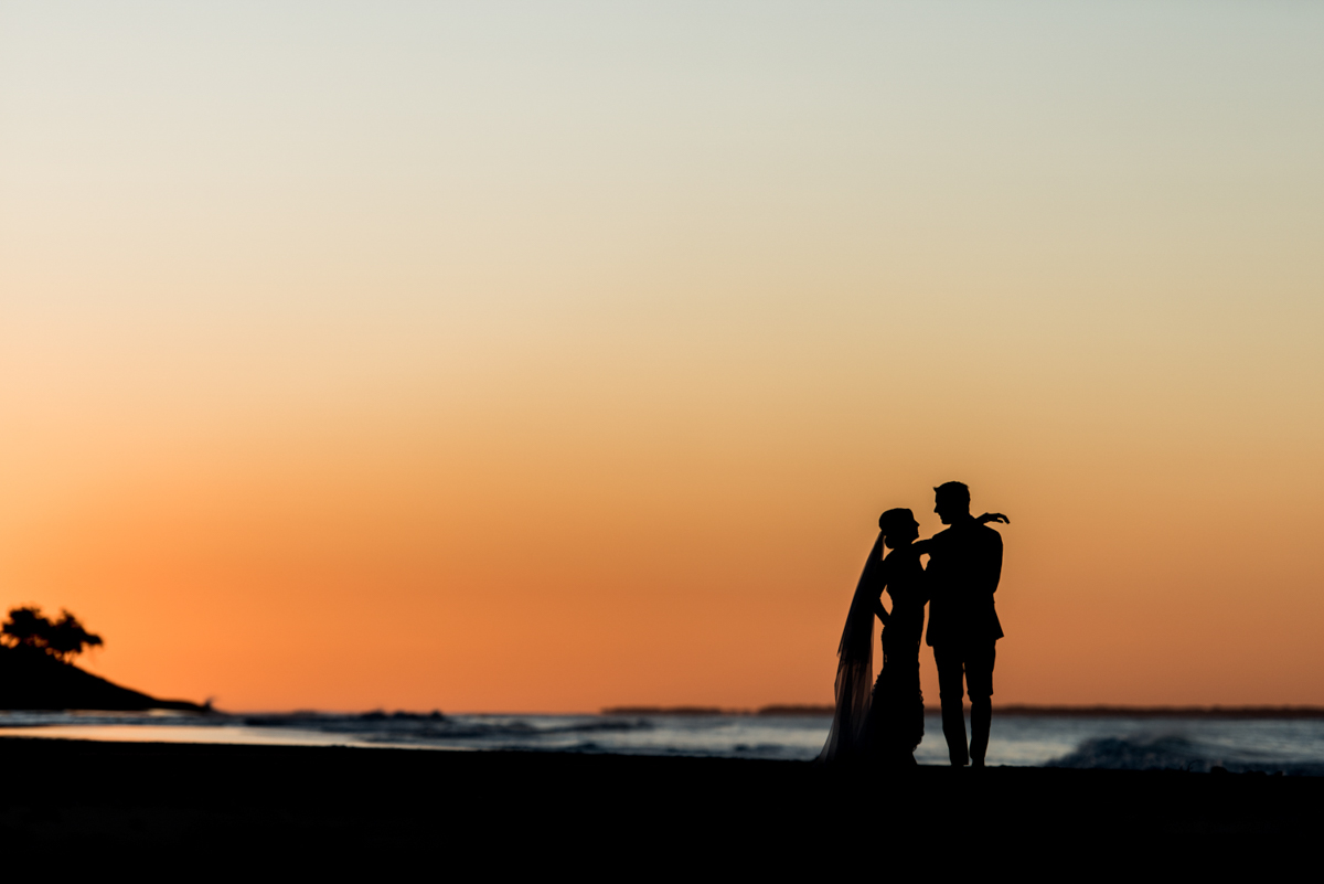 Point Lookout community hall wedding reception   Emma and Anthony wedding video   bride and groom on Straddie Home beach