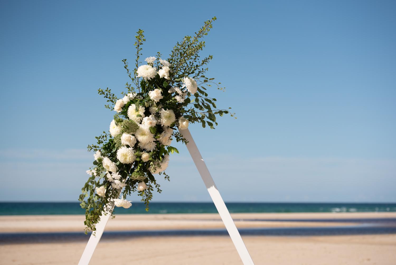 Dan and Drew straddie wedding | same sex wedding | North Stradbroke Island