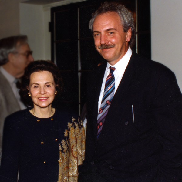 Mary Galvin and Robert Bein