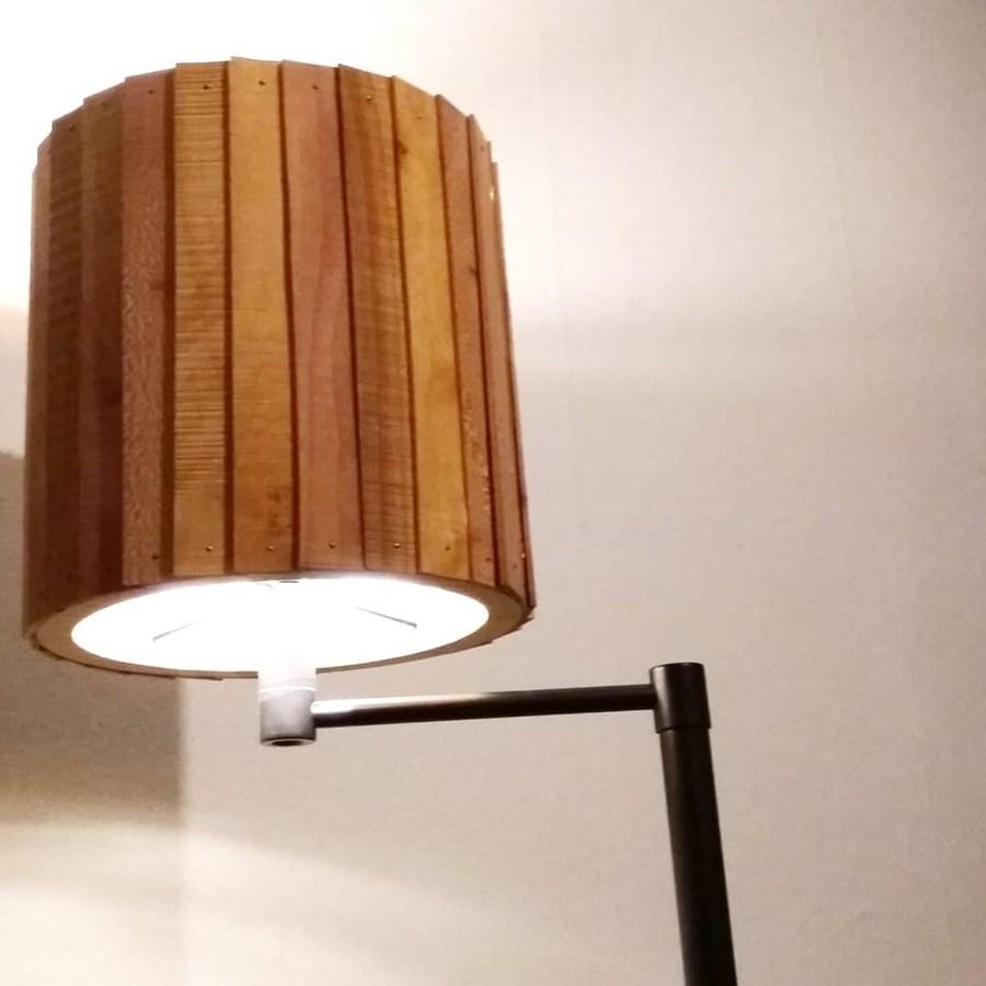 Houten lamp - STRAEL Productontwerp Utrecht