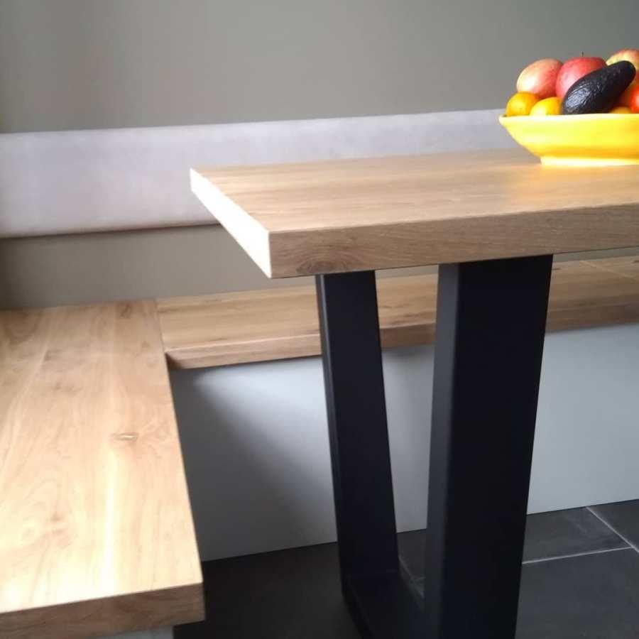 Maatwerk tafel en bank - STRAEL Productontwerp Utrecht