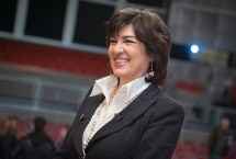 Christiane Amanpour, chief international correspondent for CNN and ABC News anchor spoke at the opening of the Marie Colvin Center for International Reporting at Stony Brook University.