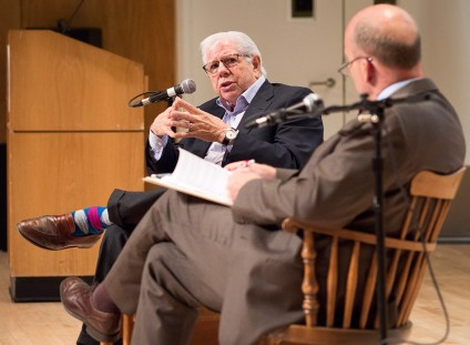 Watergate journalist Carl Bernstein at Stony Brook University.