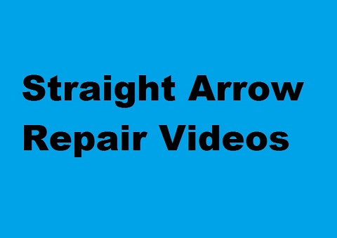 Straight Arrow Repair Videos CD