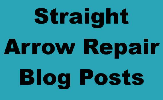 Straight Arrow Repair Blog Posts