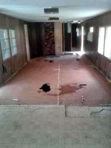 Workman Floor repair 6