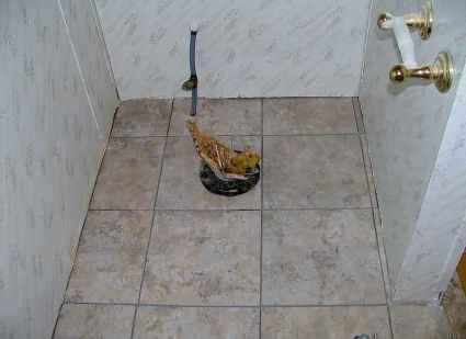 Bathroom Repair Before 1