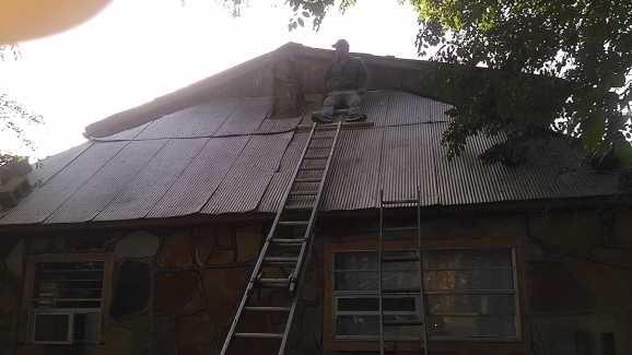 Metal Roof Repair 1
