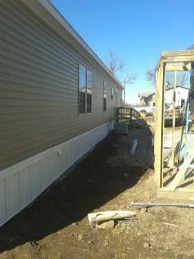 Mobile Home Install w-Porch8