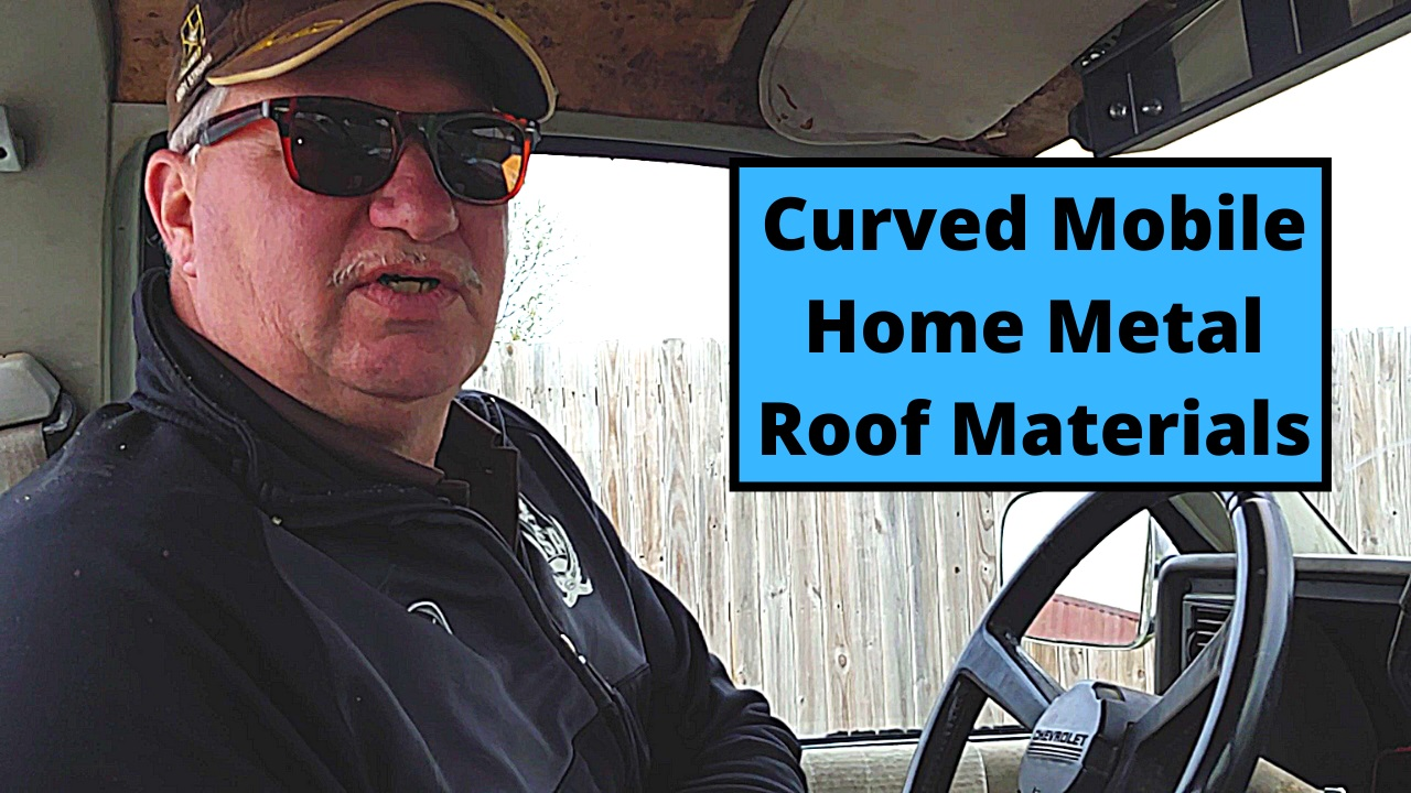 Curved Mobile Home Metal Roof Materials