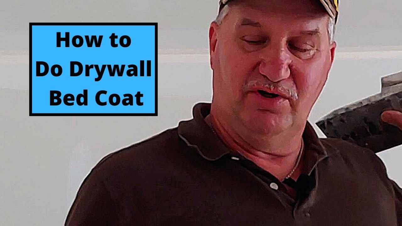How to Do Drywall Bed Coat