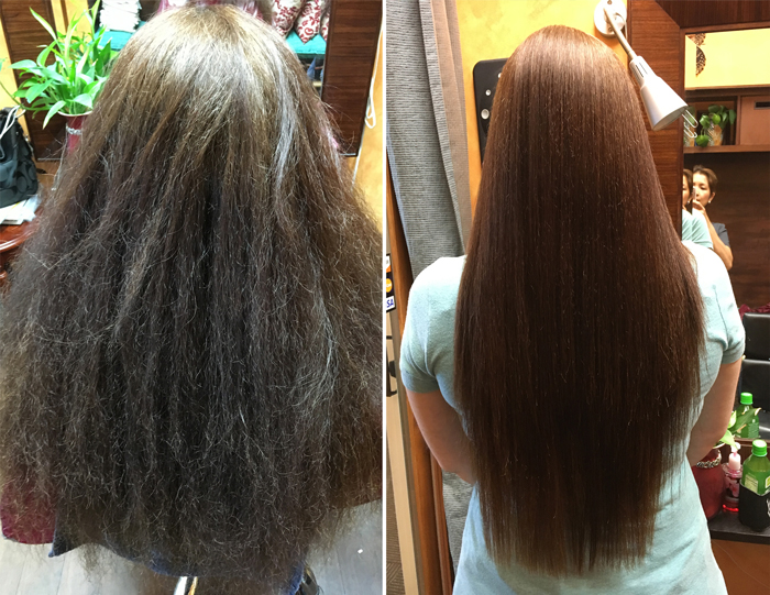 How To Treat Chemically Straightened Hair