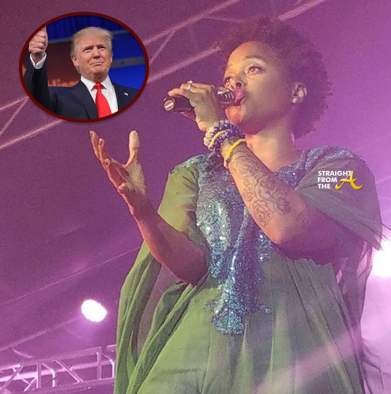Chrisette Michele Inks Deal To Sing At Trump Inauguration + Her Response to Backlash...