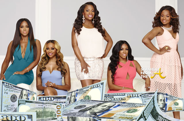 #RHOA Salaries Revealed: Guess Who's The Highest/Lowest Paid 'Housewife' on Season 9... (PHOTOS)