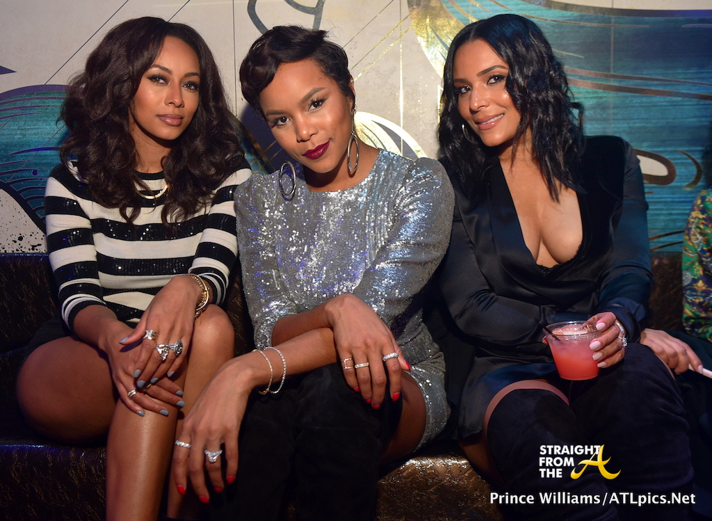 CLUB SHOTS LeToya Luckett Parties In Atlanta W Keri
