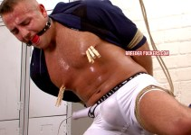 #Classic: Thick Jock Daniel Fights Adrian's Punishment as Hard as He Can