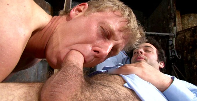 Virile stud Khaled Forced to Use his Mouth Like a Filthy Whore