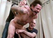 First Look: Pathetic Rent-a-Cop Doused in Piss at Breeder Fuckers Dungeon