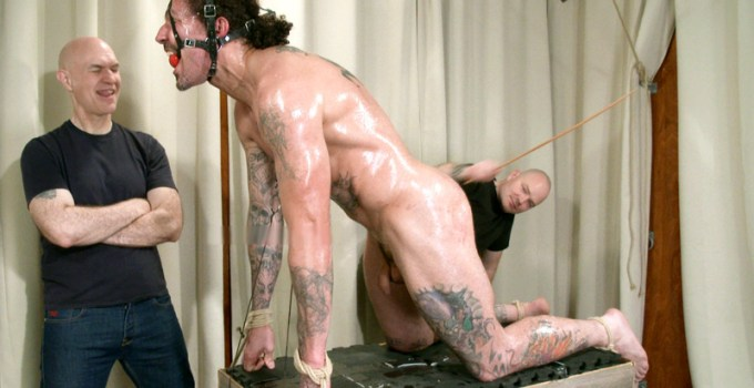 Vincent's Pleas For Mercy Earn Him a Creepy Wank and Cumshot Edible