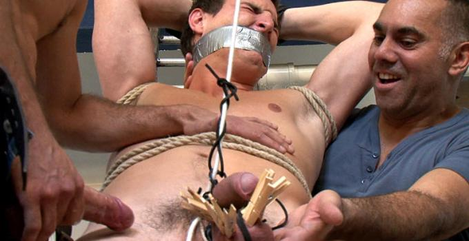 #Classic: Nick's agonizing dick torture