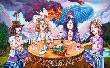 Led Zeppelin (credits: Dave MacDowell)