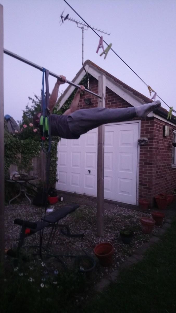 Front lever hold june 19