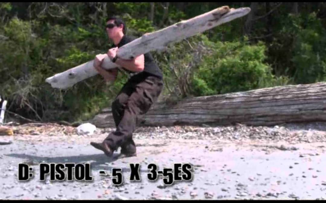 Outdoor Log Workout