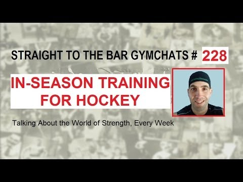 Video for Gymchat 228 – In-Season Training for Hockey (Conor Doherty)