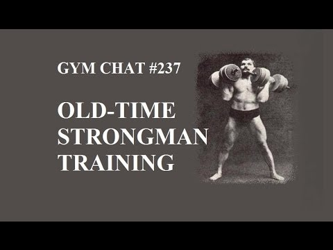 Video for Gymchat 237 – Old-Time Strongman Training (Logan Christopher)