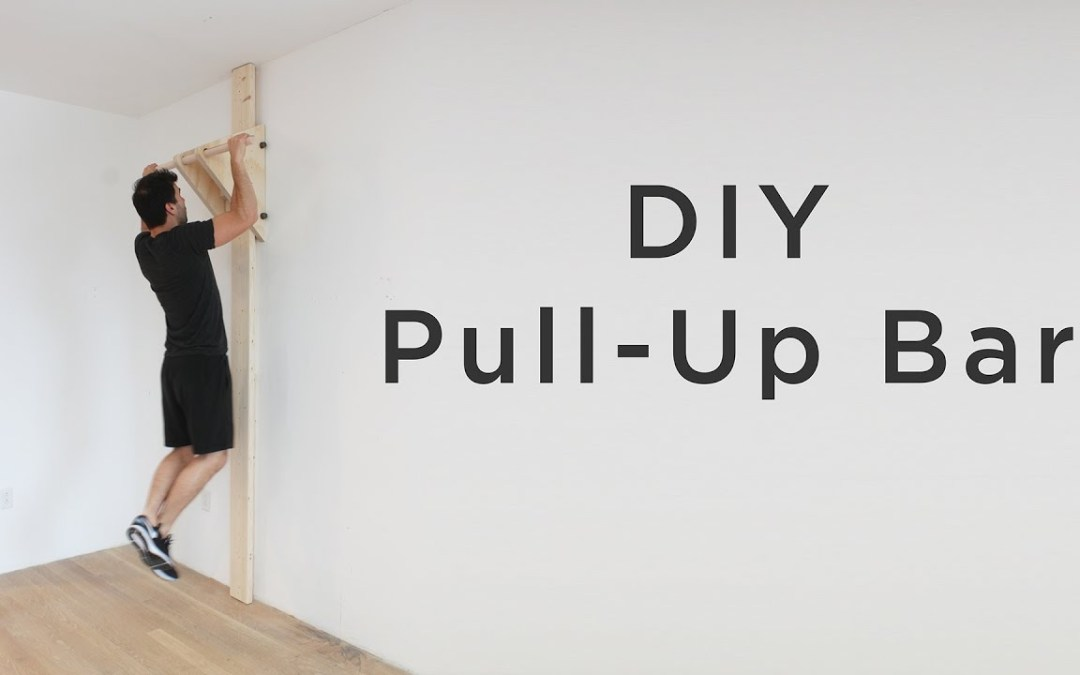 Building an Indoor Pull-Up/Chin-Up Bar