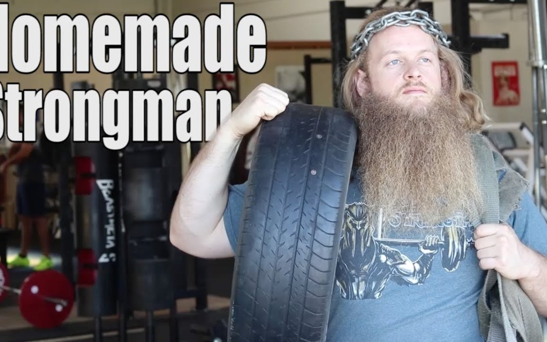 Using DIY Strongman Equipment with Clients (Alan Thrall)