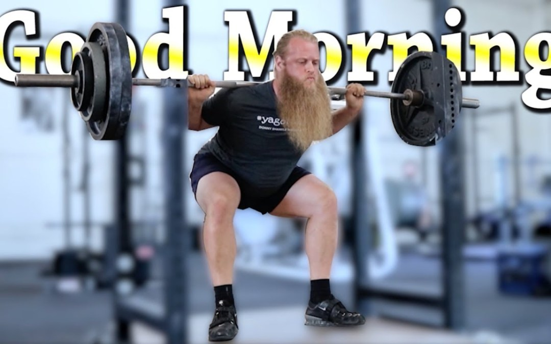 Pivot Blocks, and Fixing The Good Morning Squat (Alan Thrall)