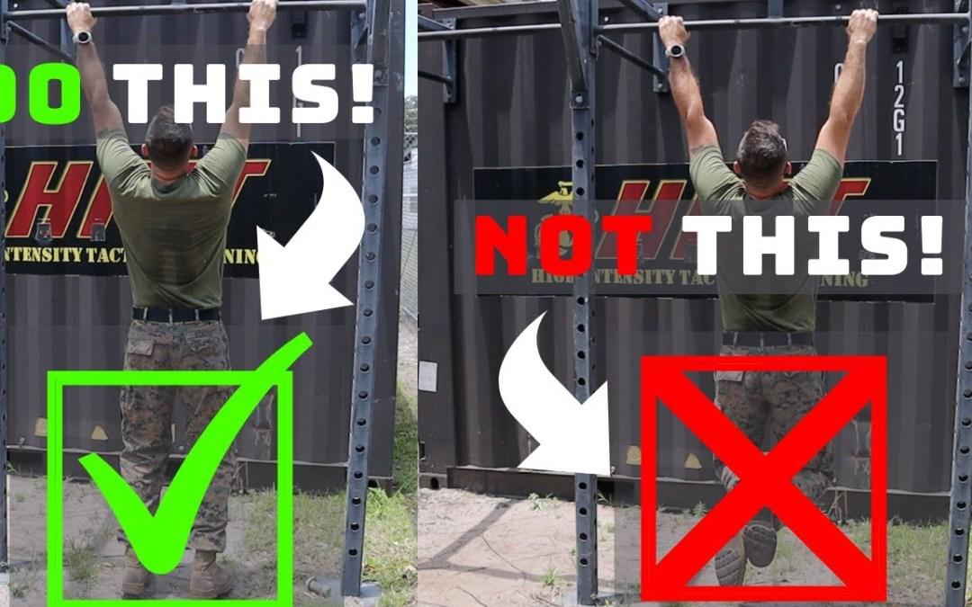 5 Tips for Easier Pull Ups (Marine Sgt Michael Eckert)