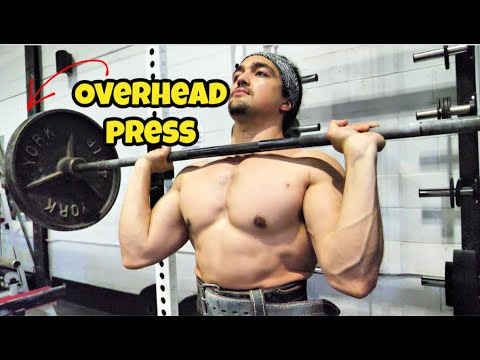Tip For An Insanely Strong Overhead Press (Omar Isuf)
