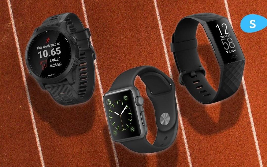 Apple vs Fitbit vs Garmin – The Battle For Your Fitness (Slidebean)