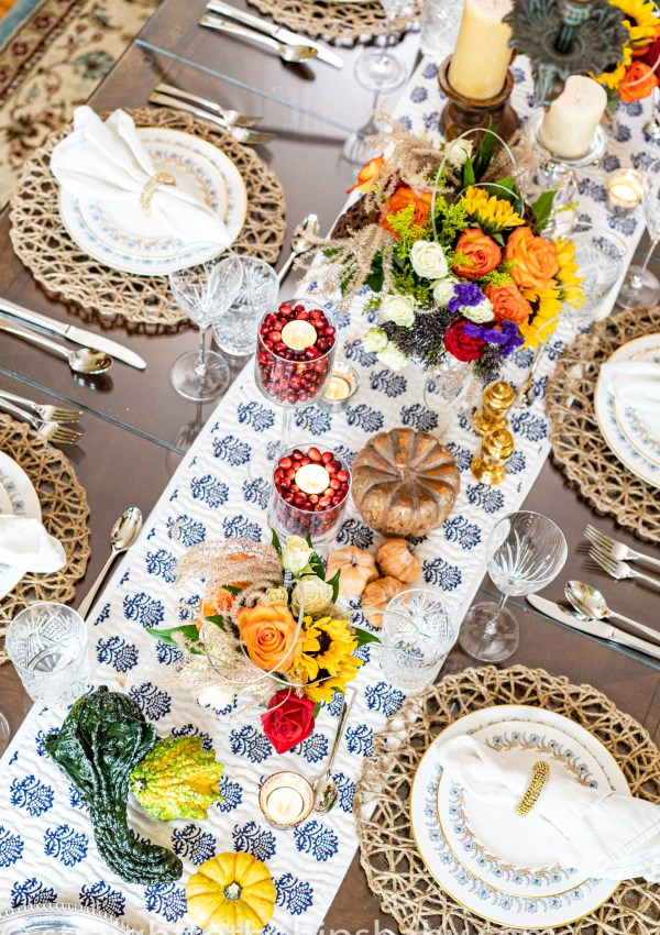 My New-England Thanksgiving Tablescape