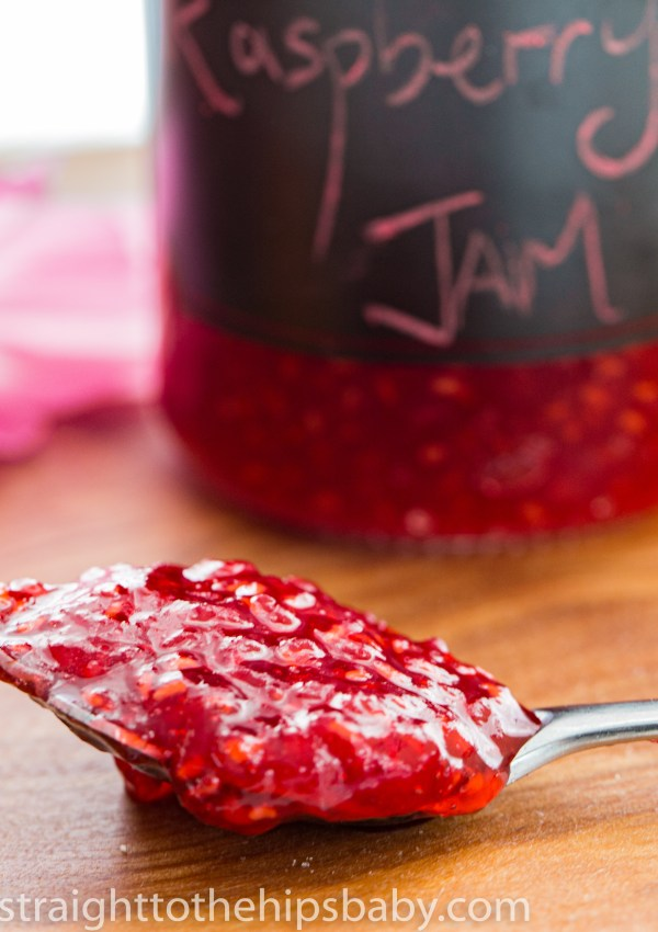 Simple Red Raspberry Jam