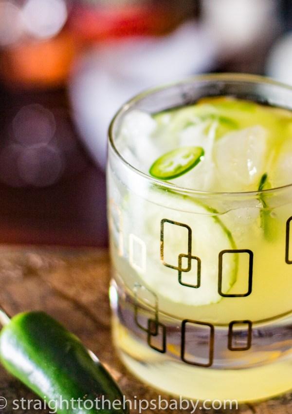 Cucumber & Jalapeño Margarita