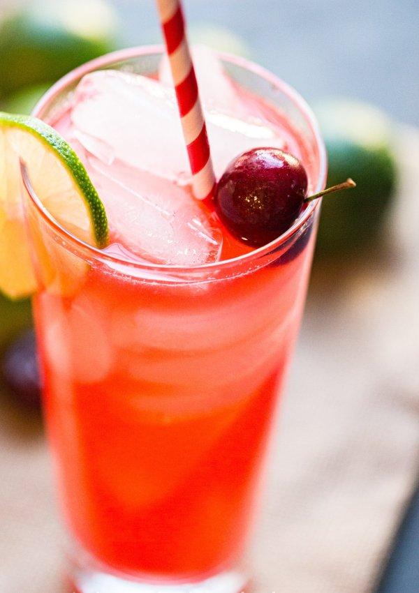 Cherry-Lime Rickey