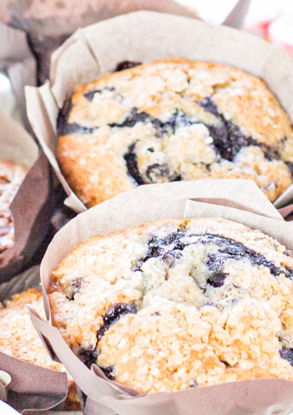 Famous Blueberry Muffins