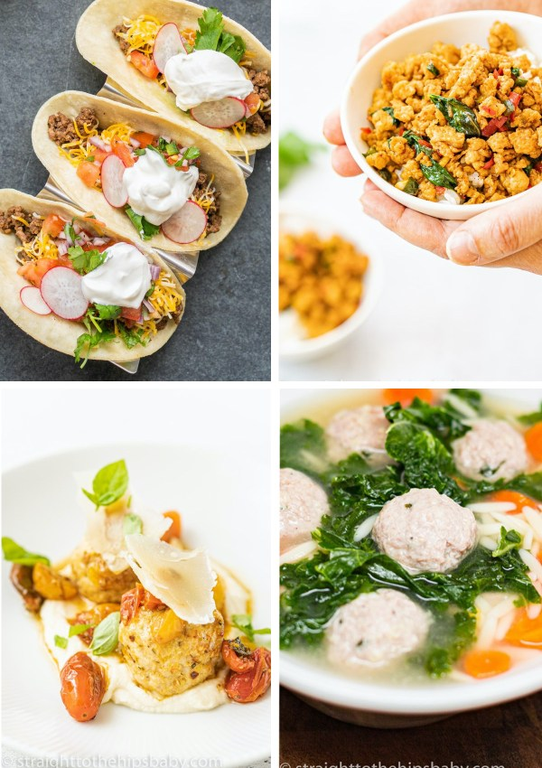 4 Easy Weeknight Dinner Recipes using Ground Meat!