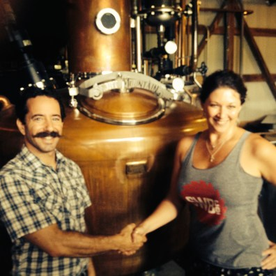Billy Kaufman at Short Mountain Distillery