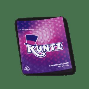 Runtz Mylar Bag Strain Labels