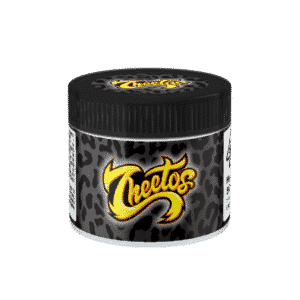 Zeetos Glass Jars. 60ml suitable for 3.5g or 1/8 oz.